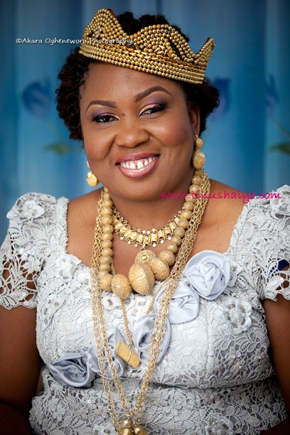 Top Nigerian Makeup Artist TinuShaiye Bonny Ttraditional Marraige 10