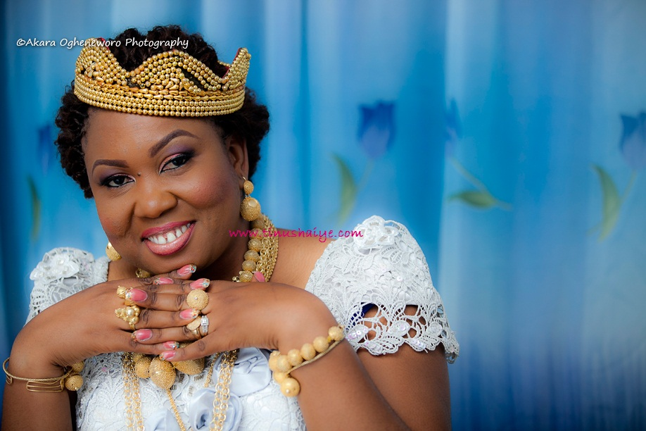Top Nigerian Makeup Artist TinuShaiye Bonny Ttraditional Marraige 12