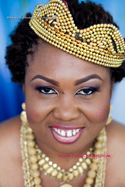 Top Nigerian Makeup Artist TinuShaiye Bonny Ttraditional Marraige 9